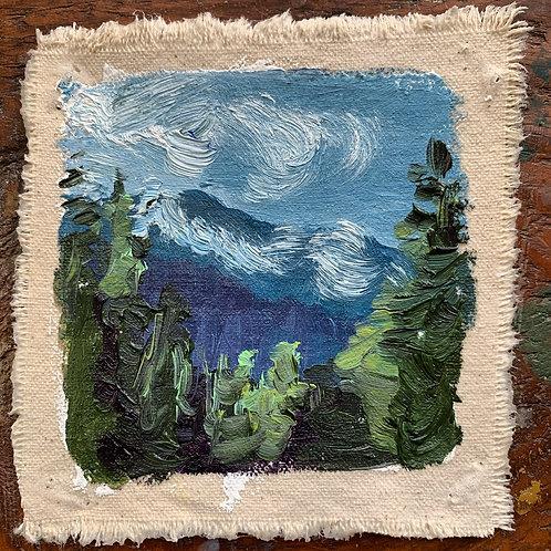 """""""Glacier"""" mini with frame"""