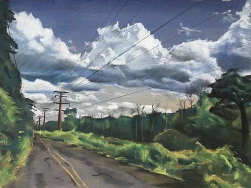 """An Abandoned Road - Pennsylvania"""