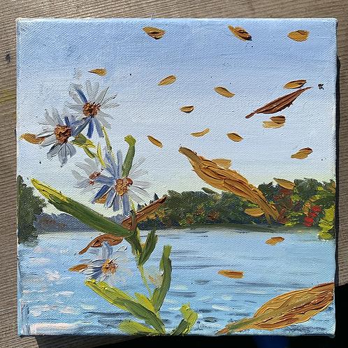 """Confetti Leaves - Marsh Creek"""