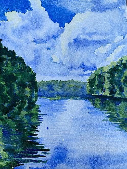 """823 Marsh Creek #2"" print"