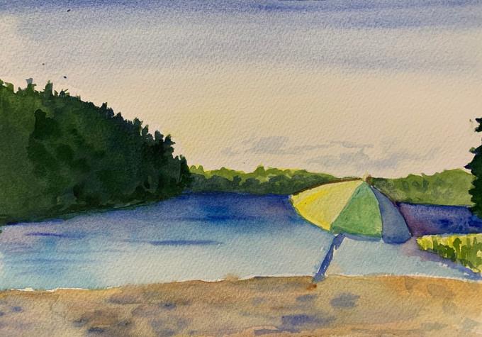 """Echo Lake - Maine"""