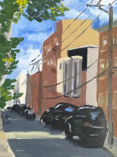 """Swain Street - Philly"" print"
