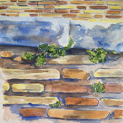 """Brick Wall - Rome"""