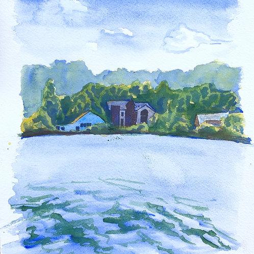 """""""Lake Nockamixon Houses"""""""
