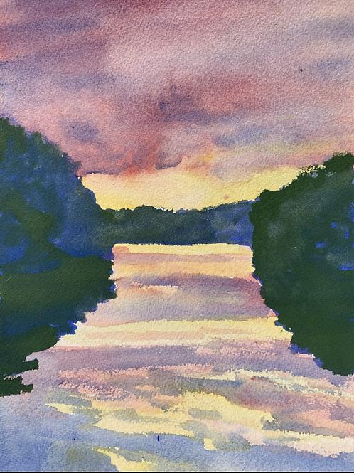 """Reflections - Blue Marsh Lake"""
