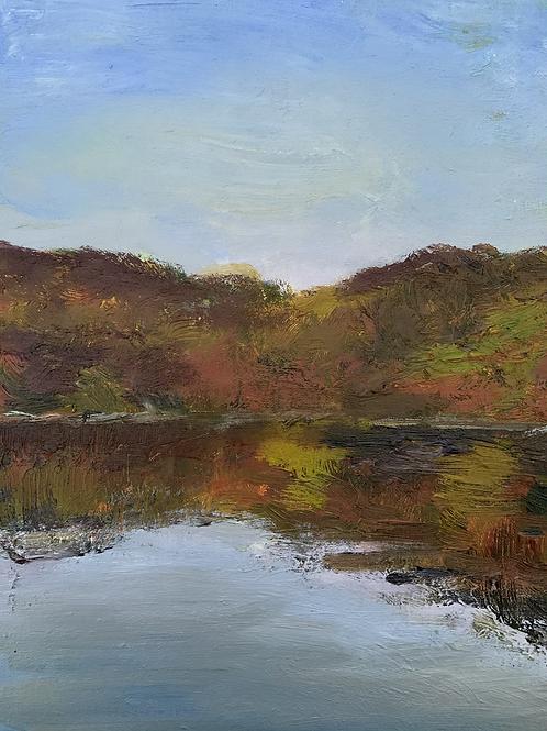 """oct 28 warm Marsh Creek"""