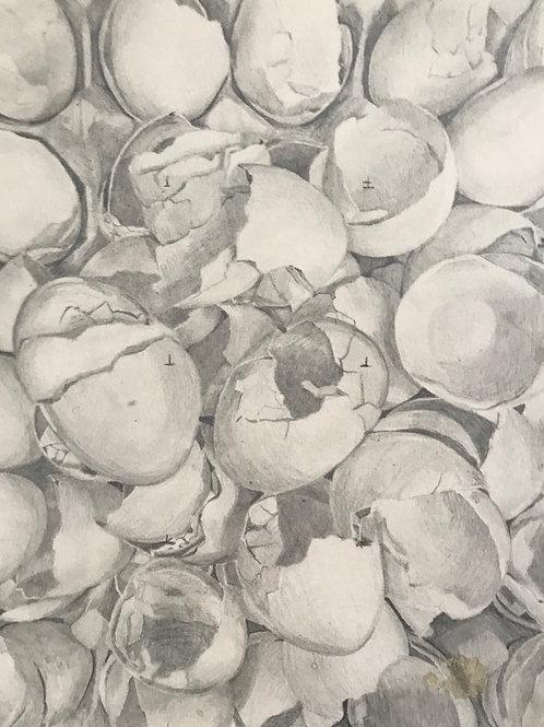 """Egg Shells #6"""