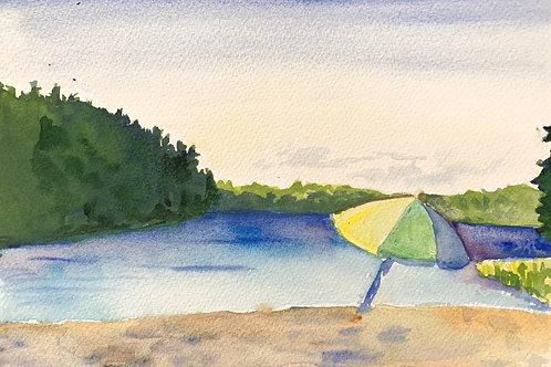 """""""Echo Lake - Acadia"""""""