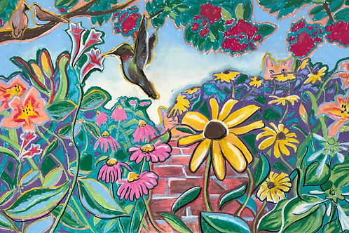 """""""Welcome to my Garden #2"""" print"""