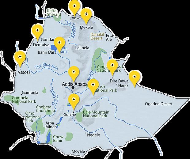 Mekelle Map