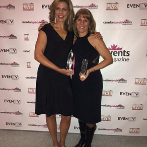 outstanding logistical achievement award 2017 Canadian Event Industry Awards