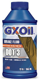 GXOil BRAKE FLUID DOT-3 (12Oz)