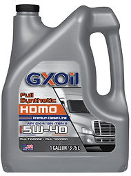 GXOil Full Synthetic 5W40 (API CK-4_SN,