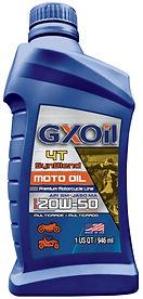 GXOil 4T-MOTO SynBlend 20W50 (32Oz)