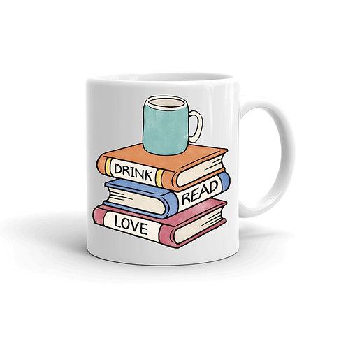 Чаша Drink Read Love