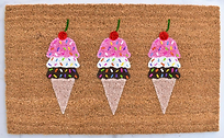 Ice Cream Doormat