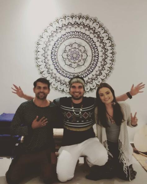 Aula de Xamanismo, alunos do Clã do Falcão