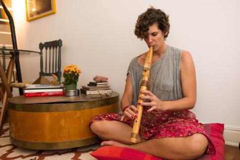 Aula de Flautas Nativas