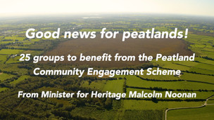 25 communities get funding for peatlands conservation, including one in Carlow