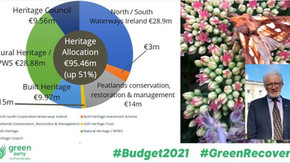 Heritage funding up 51% in Budget 2021