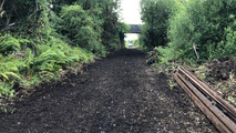 Environmentally sensitive clearance of 50 years overgrowth on 23km stretch of disused railway line