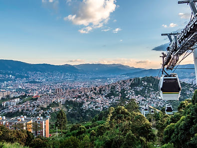 🚠 Skyline of Medellin from the Metro Cable 🚠