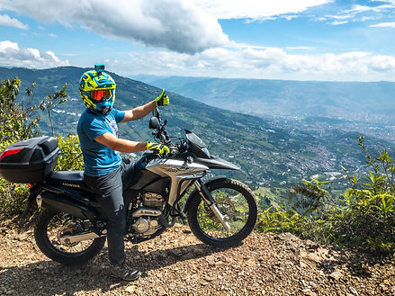 Off Road Motorcycle Rental Colombia