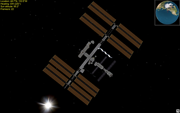 ISS 3D Visualization