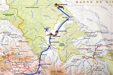 Map of Manu