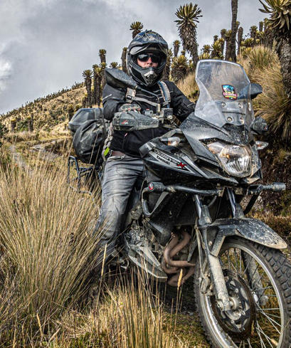 motorcycle tour colombia