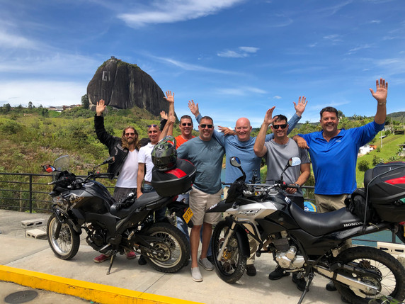 Guatape Colombia Motorcycle Rental