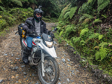 Paul Some Off-Road Riding in Colombia