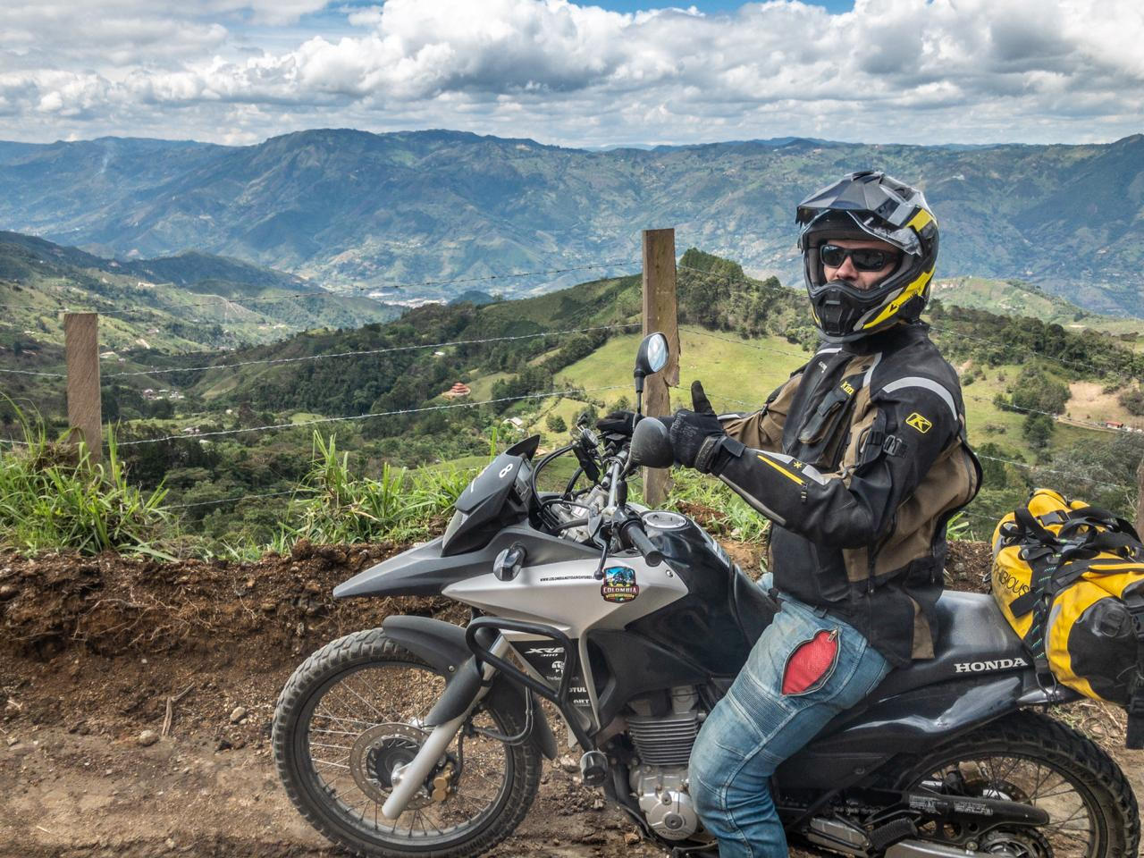 Motorcycle adventures in Colombia