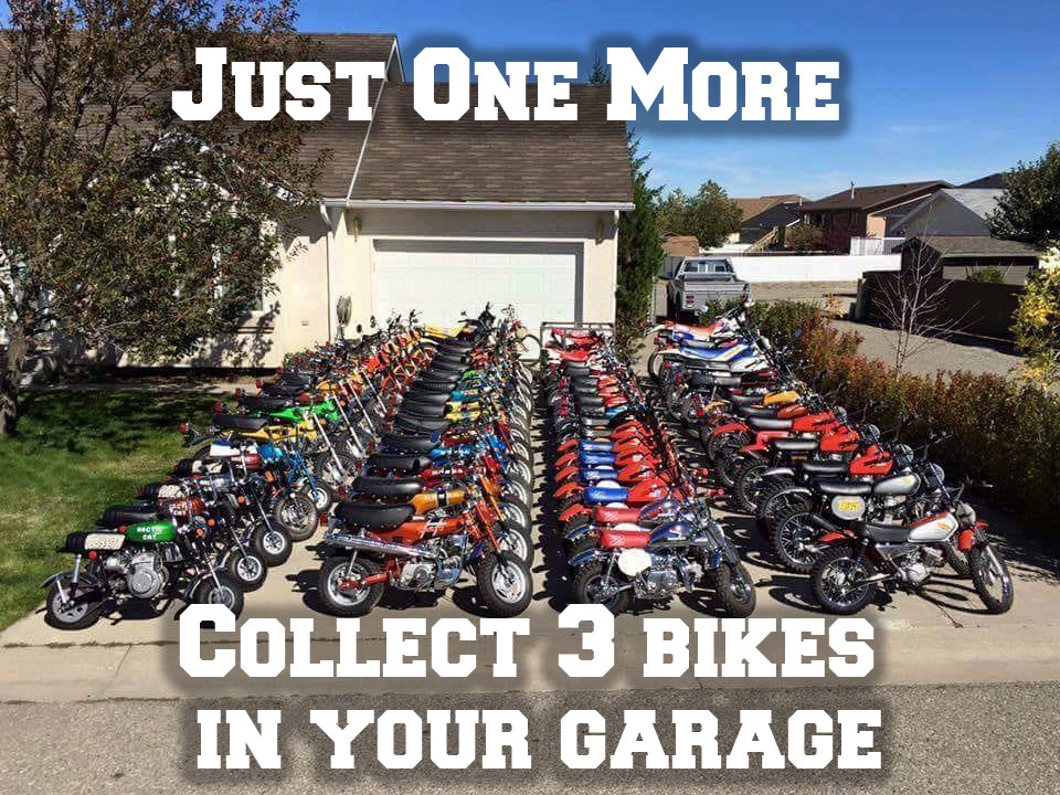 Motorcycle Riding Achievement Unlocked: Just One More - Collect 3 bikes in your garage
