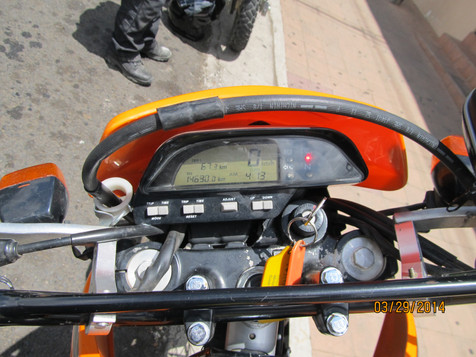 Honda Tornado XR250 DASH AND GAUGES