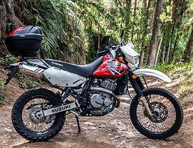 Suzuki DR650 - Motorcycle Rent Medellin