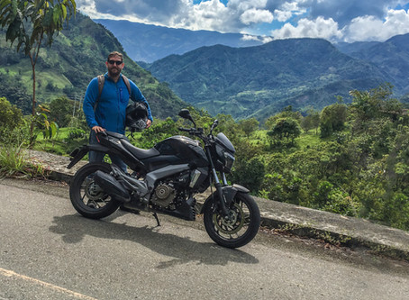 ColombiaMotoAdventures Launches Motorcycle tours and rentals in Medellin, Colombia