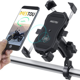 Motorcycle Phone Holder Wireless Charger