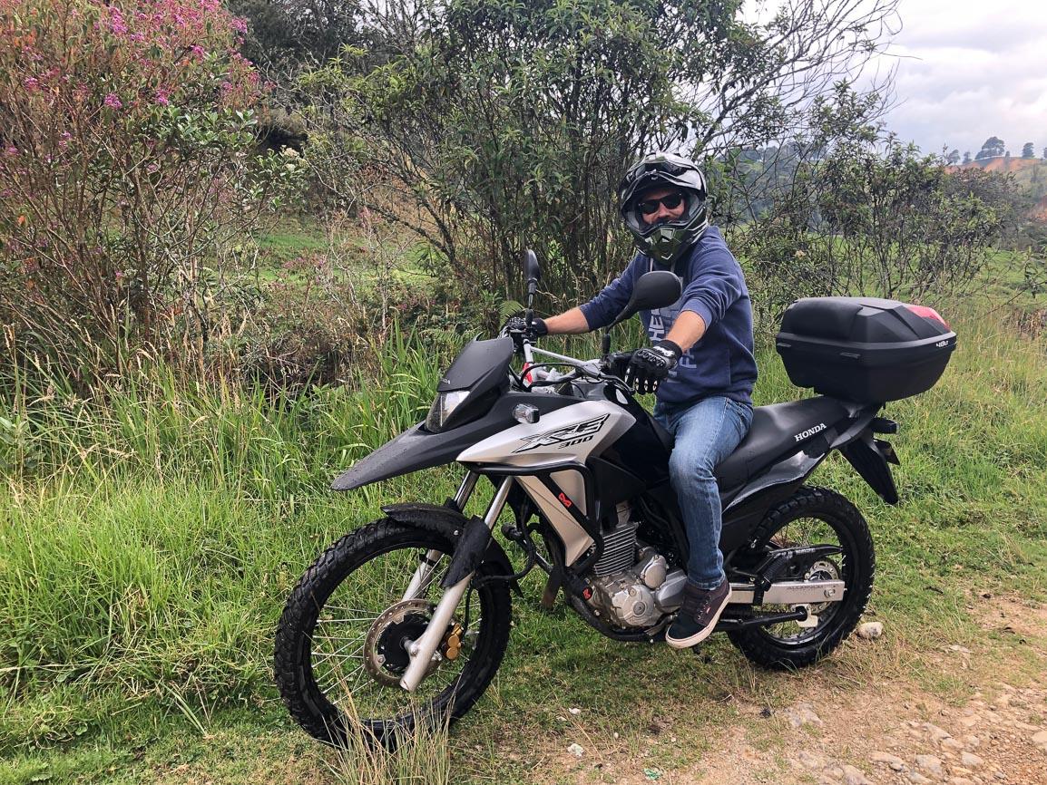 Rent Honda XRE300 Medellin