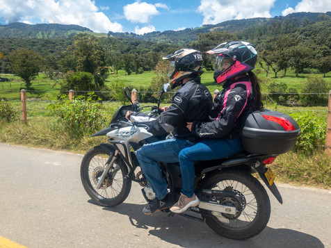 Colombian Motorbike Tours