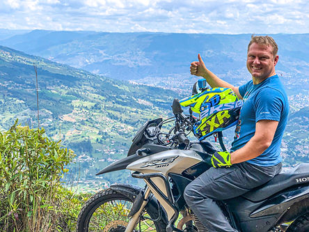 Off Road Motorcycle Tour Colombia