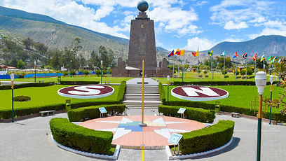 Mitad del Mundo in Quito Ecuador