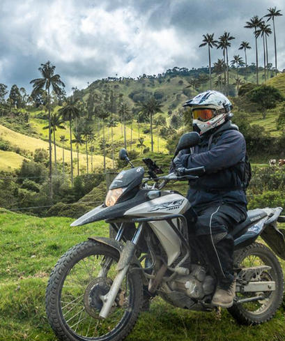 Motocycle Rental In Colombia