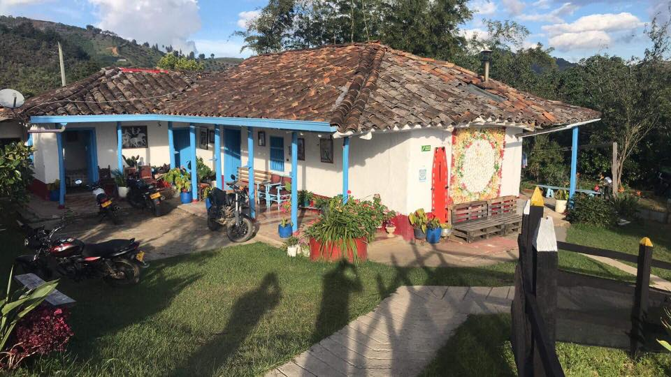 Typical Colombian House