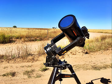 Photographing ISS Transit With Celestron C8 and Solar Filter