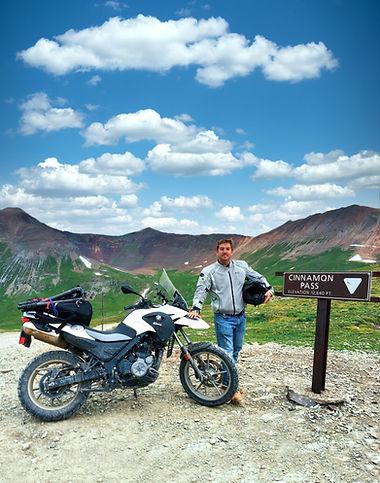 Jeff Cremer Motorcycle Cinnamon Pass