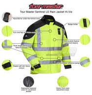 Tour Master Sentinel Law Enforcement Rain Jacket