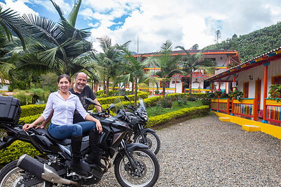 Motorcycle Tour Jardin, Colombia