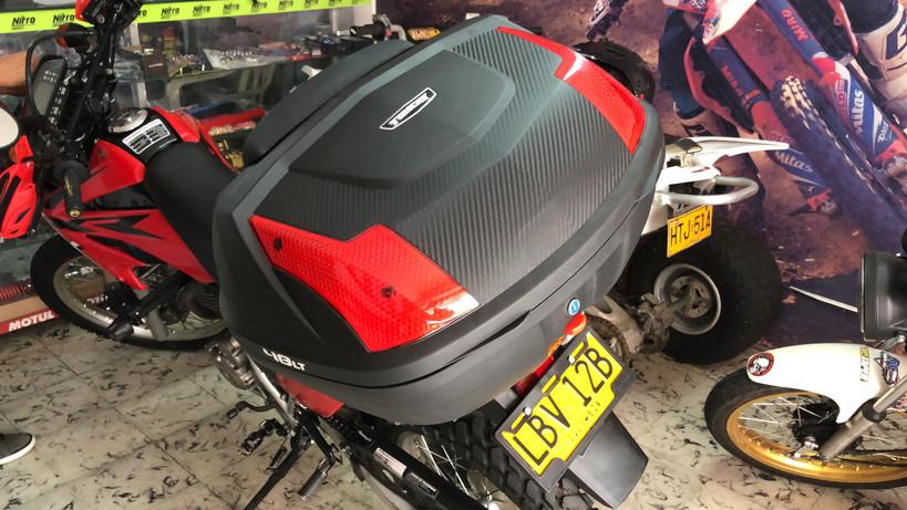 Honda Tornado XR250 TOP BOX