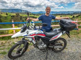 Columbia motorcycle tours